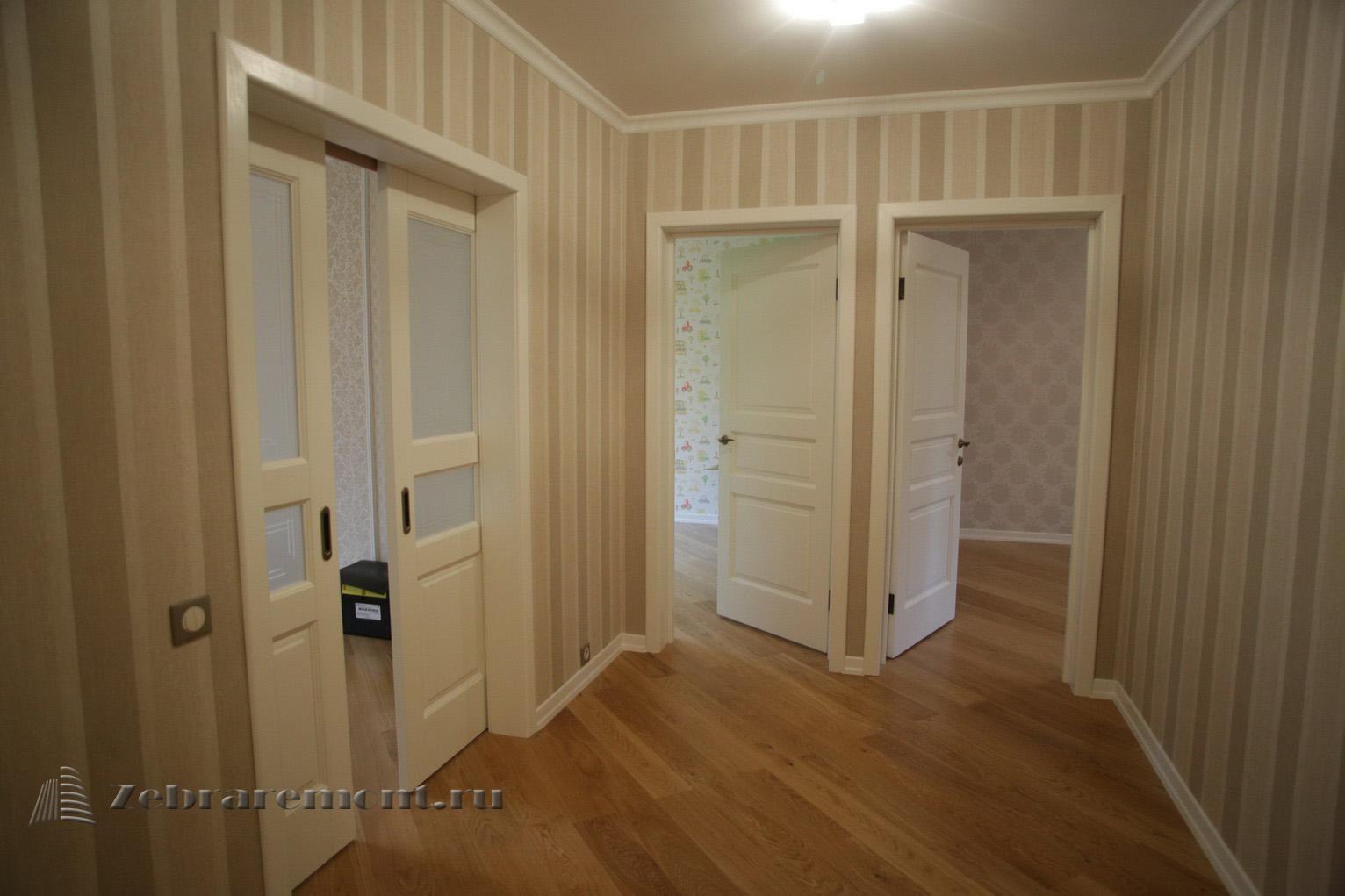 Ремонт трехкомнатной квартиры, П44