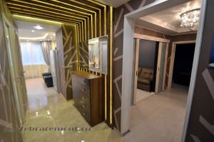 Ремонт трехкомнатной квартиры в новостройке по дизайн-проекту